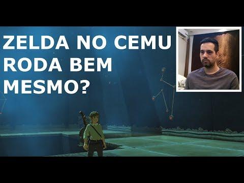 CEMU - Zelda Breath of the Wild / Tá rodando bem mesmo?