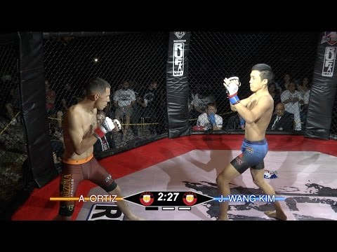 John Kim vs Adam Ortiz at the 2016 Elite Amateur Fight League West Cost Regional Championship