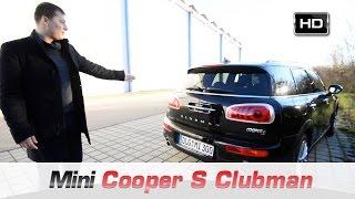 Тест ДрайВ Mini Cooper S Clubman 2016