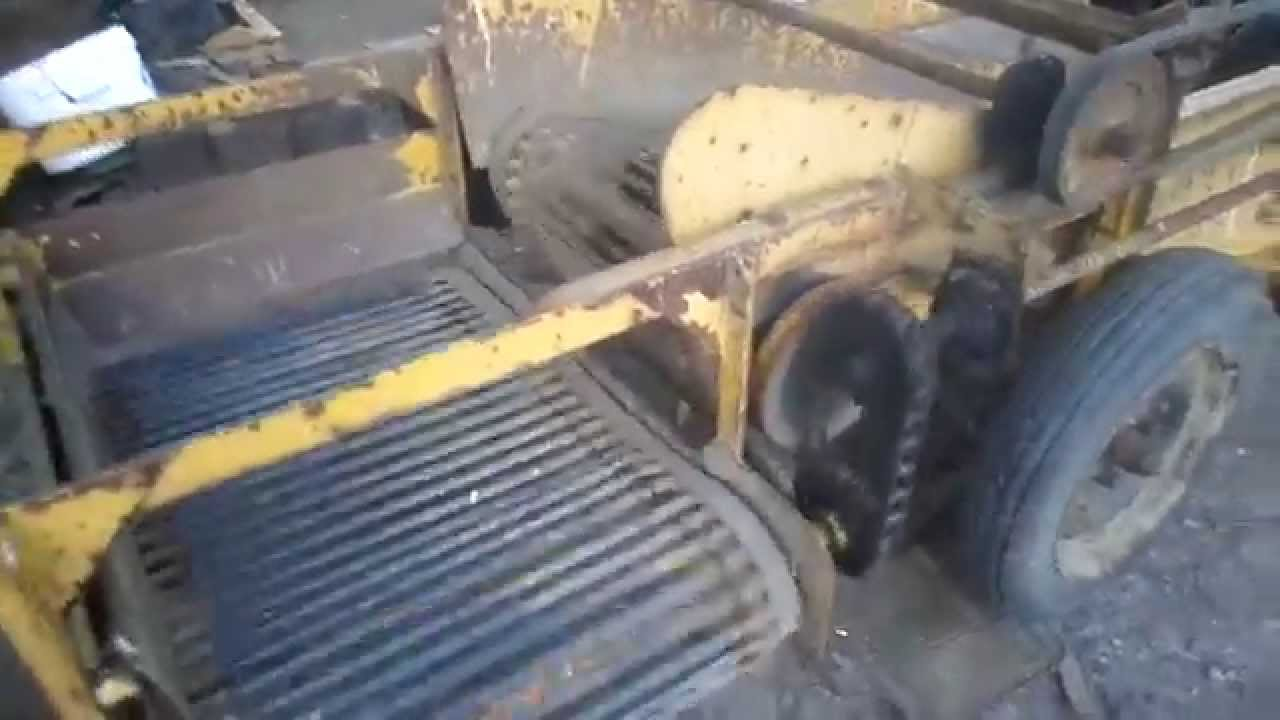 Tractor Pto Driven Single Row Potato Harvester Youtube