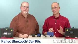 Parrot Bluetooth Car Kits   Crutchfield Video