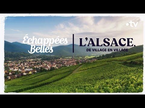 L'Alsace De Village En Village - Échappées Belles