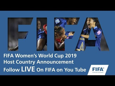 REPLAY: FIFA Women's World Cup 2019 - Host Country Announcement