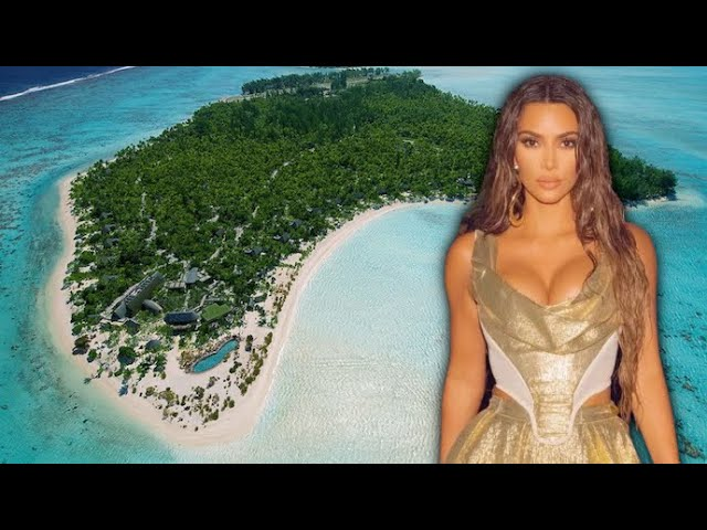 Kim Kardashian Rents A Private Island For Her Wild 40th Birthday Bash