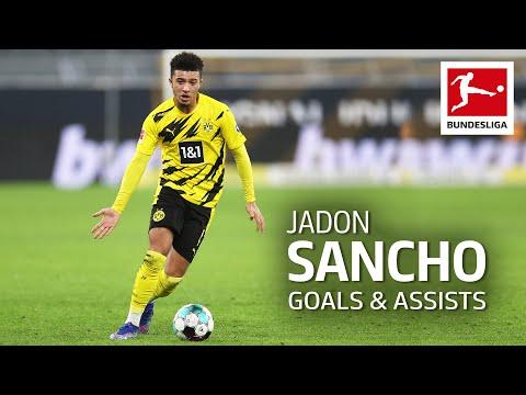 Jadon Sancho - All Goals and Assists 2020/21 so far