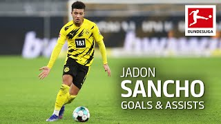 Jadon Sancho - All Goals and Assists 2020/21 so far