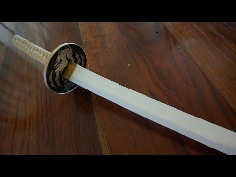 Ultimate Guide to Paper Katanas -Speed Build-