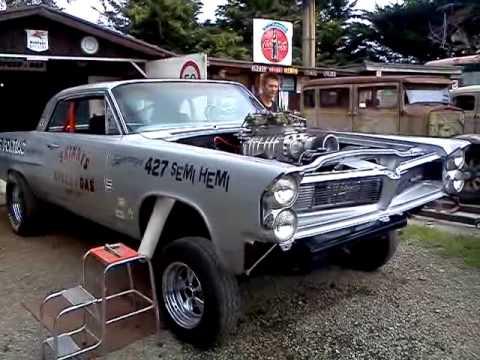 63 Pontiac Gasser Built By Skinny New Zealand Youtube