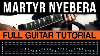 Martyr Nyebera - Kamikazee Guitar Tutorial (WITH TAB)