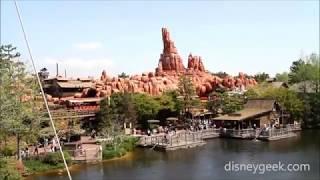 Tokyo Disneyland: Mark Twain Cruise Around the Rivers of America