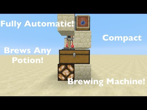 how to work a brewing stand in minecraft