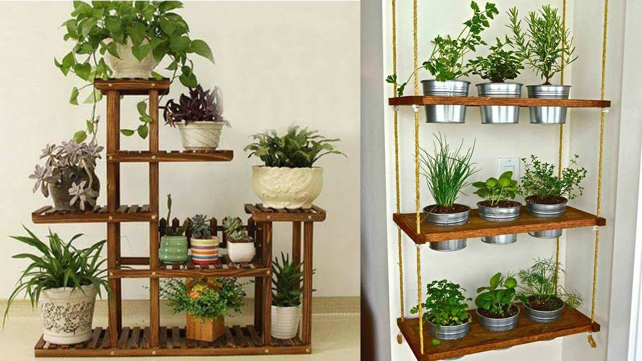 DIY Plant Stand Ideas For Your Indoor And Outdoor Spaces ... on Plant Stand Ideas  id=38134