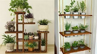 DIY Plant Stand Ideas For Your Indoor And Outdoor Spaces