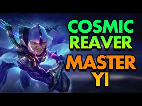 COMPLETE JUNGLE DOMINANCE! COSMIC REAVER MASTER YI IS THE BEST MASTER YI SKIN!! - League of Legends