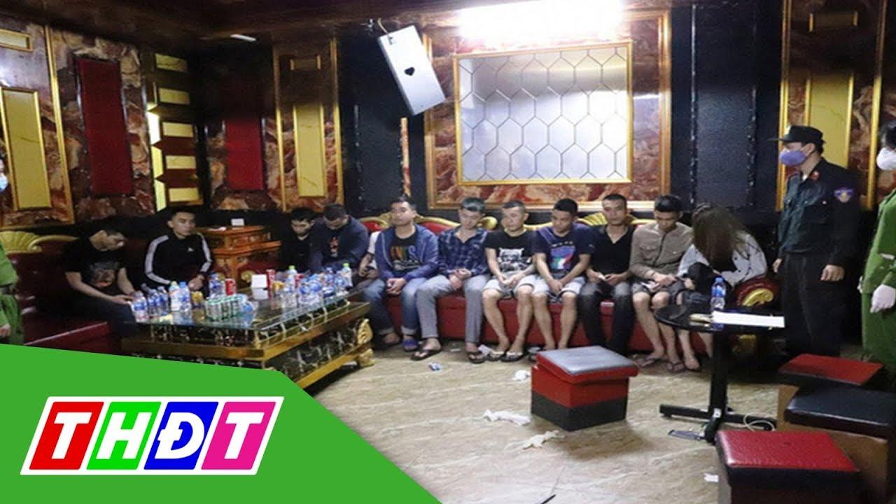76 thanh niên mở tiệc ma túy bị cách ly ngay tại quán karaoke | THDT