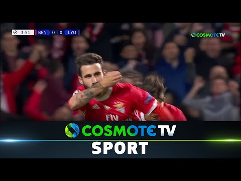Μπενφίκα - Λυών (2-1) Highlights - UEFA Champions League 2019/20 - 23/10/2019 | COSMOTE SPORT