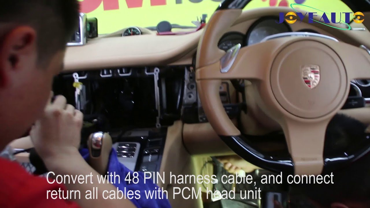 2010 Porsche Apple CarPlay Integrate - Porsche Panamera PCM3 1 CarPlay  Retrofit