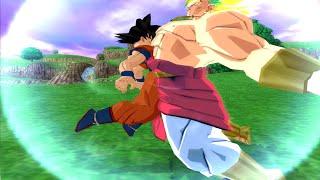 Goku And Broly Legendary Super Saiyan Fusion! Budokai Tenkaichi 3!