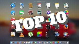 Top 10 des meilleurs applications Mac