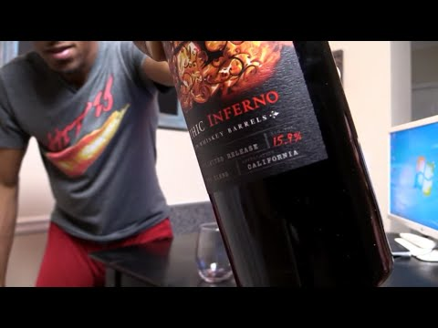 "APOTHIC ""INFERNO"" Red Blend Wine Review sHawTy"