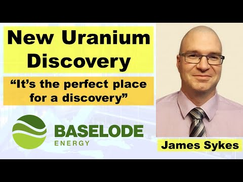 """New Uranium Discovery in the """"Perfect Place"""" with Baselode Energy CEO James Sykes"""