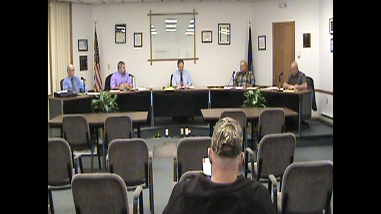 Rouses Point Village Board Meeting  12-5-16