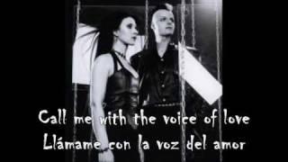 Lacrimosa - Call Me With The Voice Of Love - (Subtítulos en Inglés y Español)