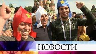 Иностранные болельщики не устают признаваться в любви России.