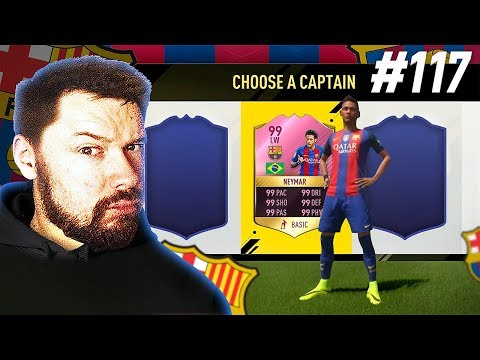THE BRAZILIAN NATIONAL TEAM DRAFT!! - FIFA 17 Ultimate Team Draft To Glory #116