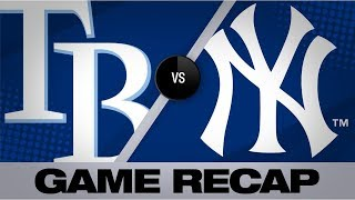 d'Arnaud's 3-homer game leads Rays | Rays-Yankees Game Highlights 7/15/19