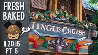Our first Jingle Cruise ride of the season...and its SO GOOD! | 11-21-15 Pt. 5