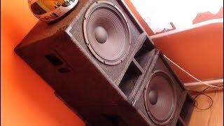 Fast & Crazy Eminence Delta 15LFA Subwoofer - ''Solo'' musica test