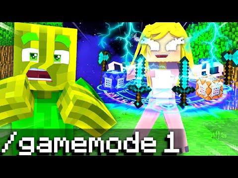ISYCHEESY ist EIN CHEATER im /GAMEMODE 1?! - Minecraft WOLF 2