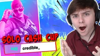 EASY $250 IN SOLO CASH CUP! | (Fortnite Solo Cash Cup)