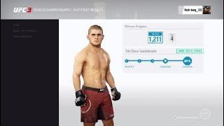 EA SPORTS™ UFC® 3 best knockout of the year 2019