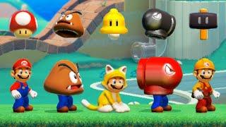 Super Mario Maker 2 - All Super Mario 3D World Power-Ups