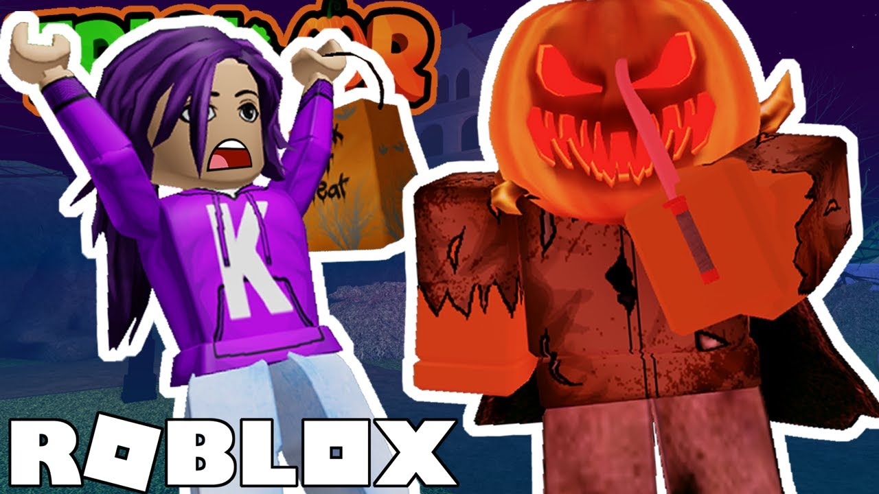Survive the Trick-or-Treat KILLER on Roblox! 🔪🎃