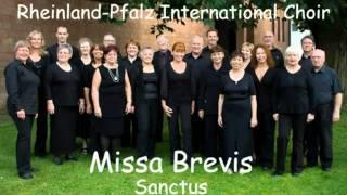 Mozart - Missa Brevis KV258 - 4 Sanctus - Rheinland-Pfalz International Choir