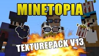 MINETOPIA - Texture Pack v13! + Download! - AspiireTopia Server!
