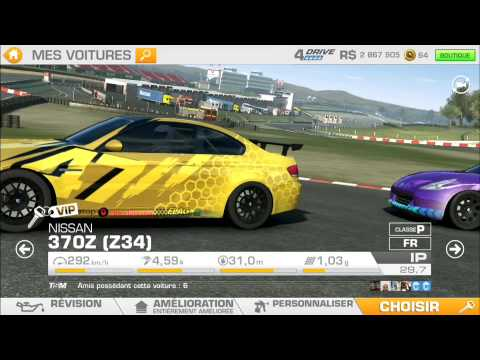 Real Racing 3 - Mon garage tuning complet. - YouTube