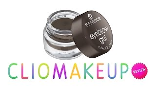 Recensione Essence Eyebrow Gel Colour & Shape Review