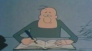 Смешные русские мультфильмы для взрослых, Густав победитель лотереи