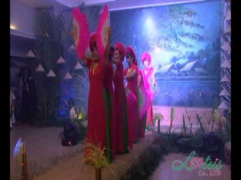 """múa Lễ Hội Non Sông,vũ đòan Hoa Sen,chương trình """"Giai Điệu Quê Hương"""""""