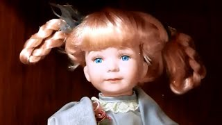 Dolls at antique mall. Porcelain, hand painted, baby dolls, celebrities and more. March 2014