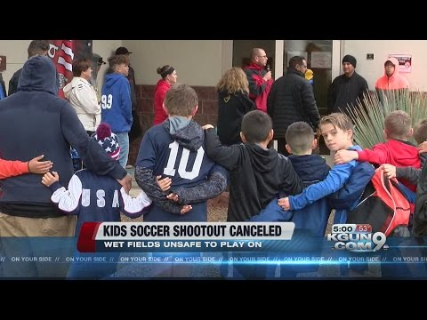 Sunday games canceled at soccer shootout