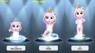 My Talking Angela LEVEL 733 Vs LEVEL742 Vs LEVEL 762 Gameplay HD