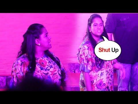 Salman Khan's Sister Arpita Khan SHOUTS On Media Asking For Her Photograph At Loveyatri Promotions