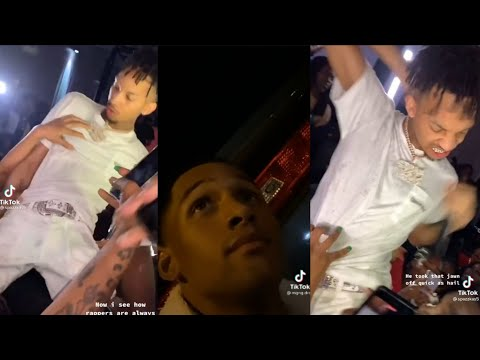 Stunna 4 Vegas thought a fan tried to snatch his chain & a shootout after his show in Killeen, T
