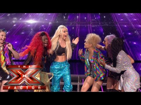 Alien Uncovered are second Group through to the Live Shows | Judges Houses | The X Factor 2015