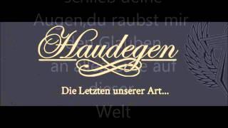 Haudegen - Alles Gute Von Dieser Welt lyrics